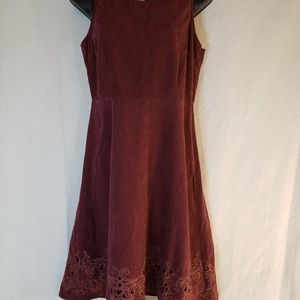 Mystree Anthropologie S small Dress embroidered